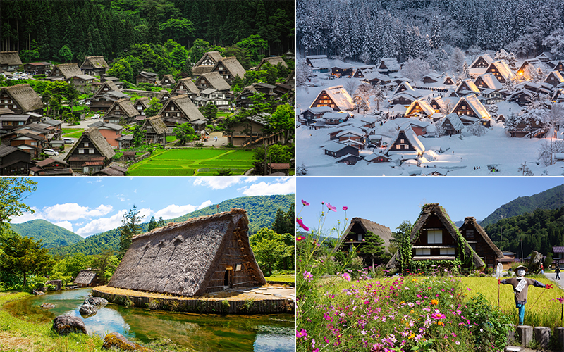 The Best Places To Visit On Your Japan Honeymoon Shirakawa Go