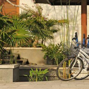Bali Honeymoon Package Sudamala Suites & Villas Bike