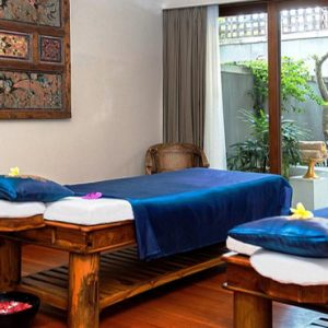 Bali Honeymoon Package Sudamala Suites & Villas Couple Spa Treatment Room