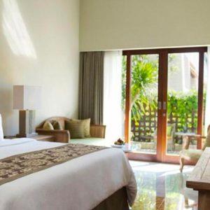 Bali Honeymoon Package Sudamala Suites & Villas Deluxe Garden Suite Bedroom