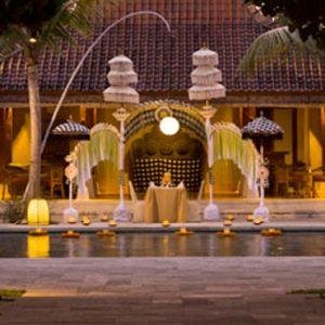 Bali Honeymoon Package Sudamala Suites & Villas Private Romantic Dining