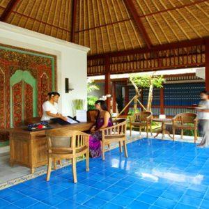 Bali Honeymoon Package Sudamala Suites & Villas Reception