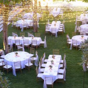 Bali Honeymoon Package Sudamala Suites & Villas Garden Wedding Reception