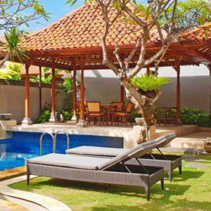 Bali Honeymoon Package Sudamala Suites & Villas Pool 2