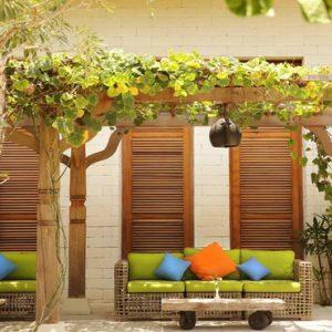 Bali Honeymoon Package Sudamala Suites & Villas Seats Outside1