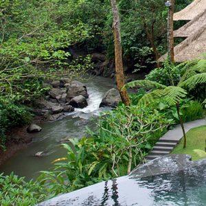 Bali Honeymoon Packages Maya Ubud Resort And Spa Aerial View