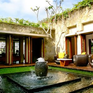 Bali Honeymoon Packages Maya Ubud Resort And Spa Fountain