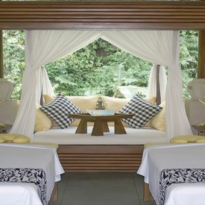 Bali Honeymoon Packages Maya Ubud Resort And Spa In Room Couple Spa