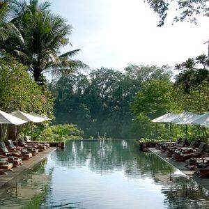 Bali Honeymoon Packages Maya Ubud Resort And Spa Infinity Pool