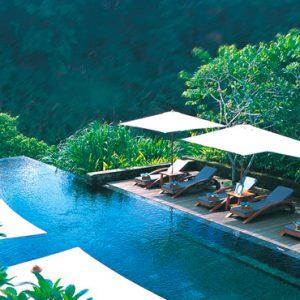 Bali Honeymoon Packages Maya Ubud Resort And Spa Infinity Pool 2