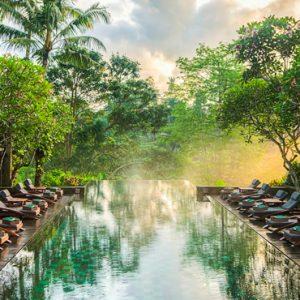 Bali Honeymoon Packages Maya Ubud Resort And Spa Infinity Pool 4