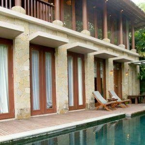 Bali Honeymoon Packages Maya Ubud Resort And Spa Pool Side View
