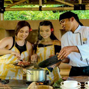 Bali Honeymoon Packages Maya Ubud Resort And Spa Thai Cooking Class