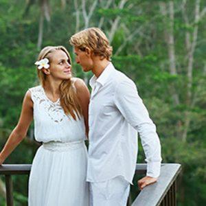 Bali Honeymoon Packages Maya Ubud Resort And Spa Couple