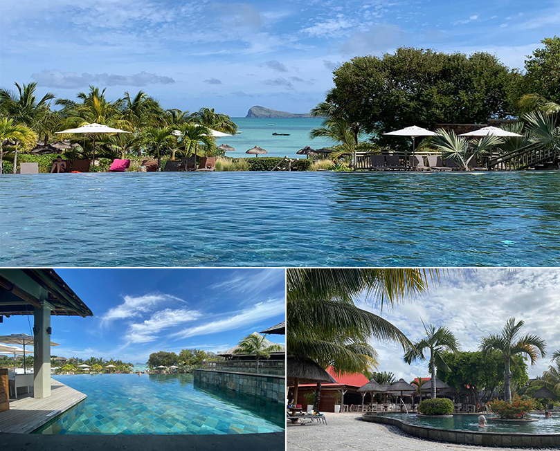 Emily's Mauritius And Dubai Holiday Review Pool At Zilwa Attitiude Mauritius