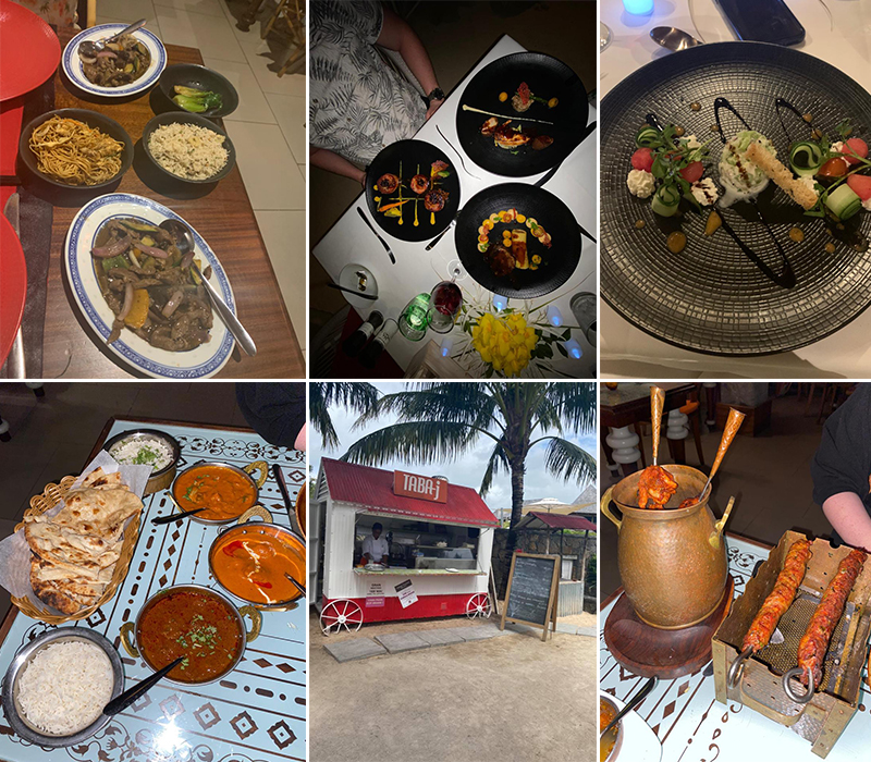 Emily's Mauritius And Dubai Holiday Review Restaurant And Taba J In Mauritius