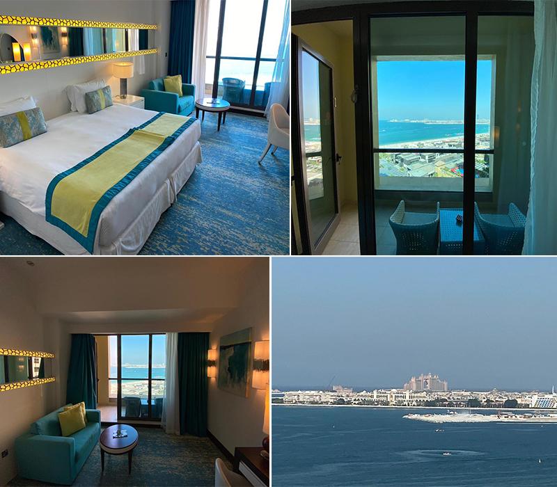 Emily's Mauritius And Dubai Holiday Review Room At JA Ocean Hotel Dubai
