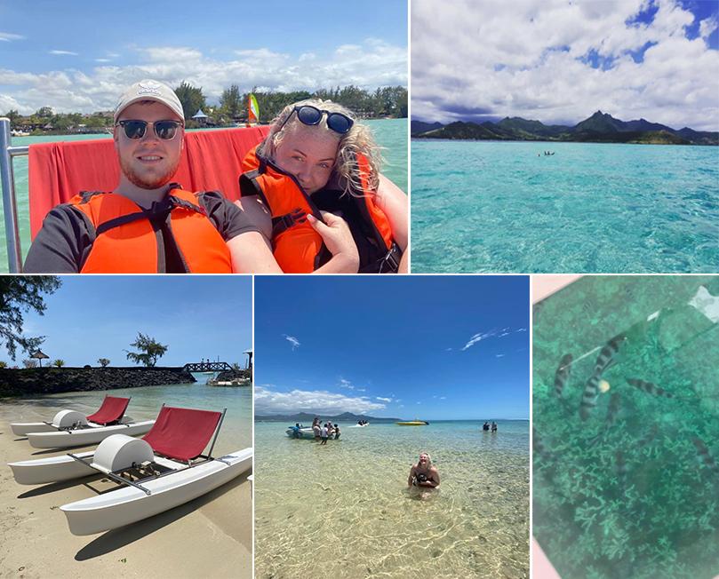 Emily's Mauritius And Dubai Holiday Review Watersports At Zilwa Attitiude Mauritius