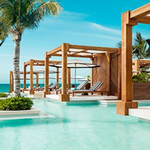 Mexico Honeymoon Packages Grand Luxxe Riviera Maya Pool And Cabanas