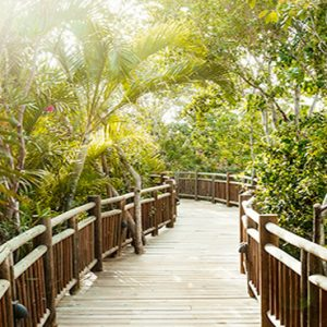 Mexico Honeymoon Packages Grand Luxxe Riviera Maya Walkway
