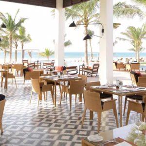 Oman Honeymoon Packages Al Baleed Resort Salalah By Anantara Al Mina Restaurant In Morning