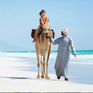 Oman Honeymoon Packages Al Baleed Resort Salalah By Anantara Beach Camel Riding