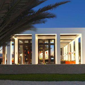 Oman Honeymoon Packages Al Baleed Resort Salalah By Anantara Exterior Night