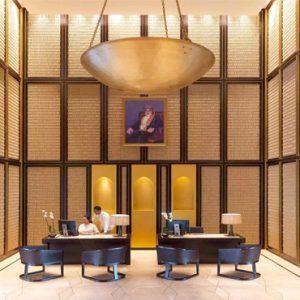 Oman Honeymoon Packages Al Baleed Resort Salalah By Anantara Lobby Reception