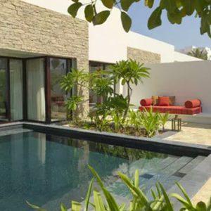 Oman Honeymoon Packages Al Baleed Resort Salalah By Anantara One Bedroom Beach Pool Villa Pool