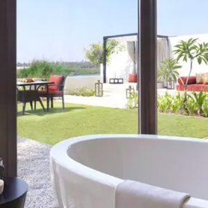 Oman Honeymoon Packages Al Baleed Resort Salalah By Anantara One Bedroom Lagoon View Villa Bathroom