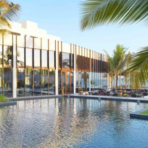 Oman Honeymoon Packages Al Baleed Resort Salalah By Anantara Pool Exterior