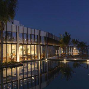 Oman Honeymoon Packages Al Baleed Resort Salalah By Anantara Pool Exterior 2