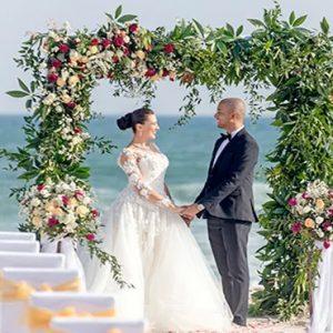 Oman Honeymoon Packages Al Baleed Resort Salalah By Anantara Private Beach Wedding