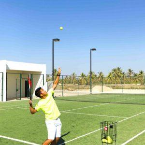 Oman Honeymoon Packages Al Baleed Resort Salalah By Anantara Tennis
