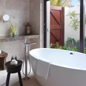 Oman Honeymoon Packages Al Baleed Resort Salalah By Anantara Three Bedroom Royal Beach Villa Bathroom