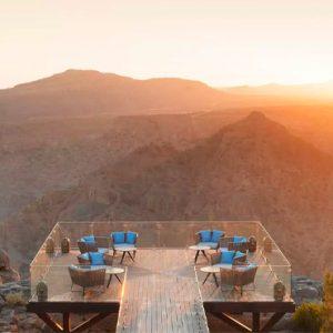 Oman Honeymoon Packages Anantara Al Jabal Al Akhdar Resort Diana's Point View