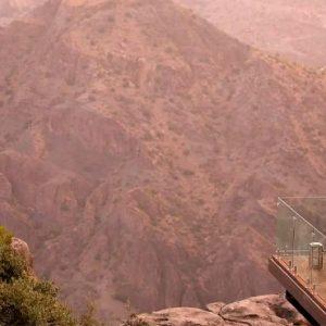 Oman Honeymoon Packages Anantara Al Jabal Al Akhdar Resort Dining Cliff View
