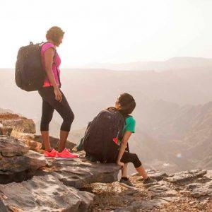 Oman Honeymoon Packages Anantara Al Jabal Al Akhdar Resort Mountain Climbing