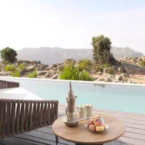 Oman Honeymoon Packages Anantara Al Jabal Al Akhdar Resort One Bedroom Anantara Cliff Pool Villa Pool