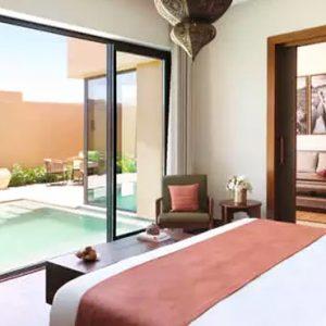Oman Honeymoon Packages Anantara Al Jabal Al Akhdar Resort One Bedroom Deluxe Garden Pool Villa Bedroom
