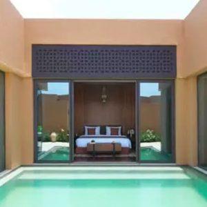Oman Honeymoon Packages Anantara Al Jabal Al Akhdar Resort One Bedroom Deluxe Garden Pool Villa Pool