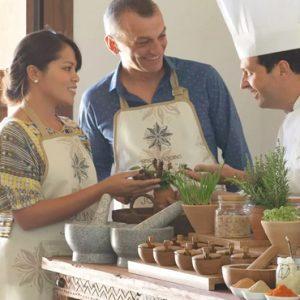 Oman Honeymoon Packages Anantara Al Jabal Al Akhdar Resort Spice Spoon Cooking Class