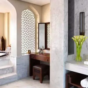 Oman Honeymoon Packages Anantara Al Jabal Al Akhdar Resort Three Bedroom Royal Mountain Villa Bathroom