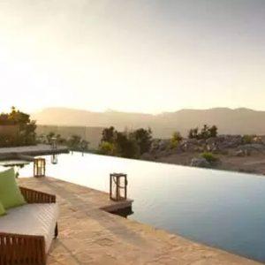 Oman Honeymoon Packages Anantara Al Jabal Al Akhdar Resort Three Bedroom Royal Mountain Villa Pool