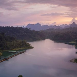 Thailand Honeymoon Packages Elephant Hills Sunset Overview