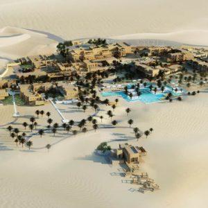 Abu Dubai Honeymoon Packages Jumeirah Al Wathba Aerial View