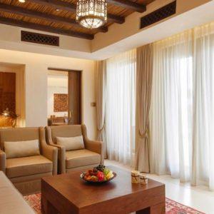 Abu Dubai Honeymoon Packages Jumeirah Al Wathba Living Room