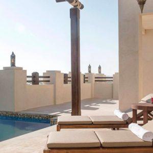 Abu Dubai Honeymoon Packages Jumeirah Al Wathba One Bedroom Pool Villa