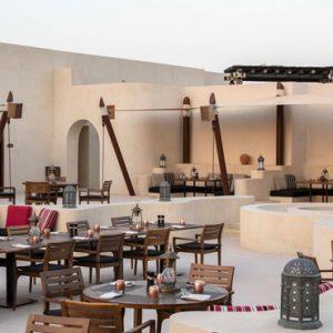 Abu Dubai Honeymoon Packages Jumeirah Al Wathba Outdoor Tea And Breakfast