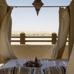 Abu Dubai Honeymoon Packages Jumeirah Al Wathba Outdoor Bed